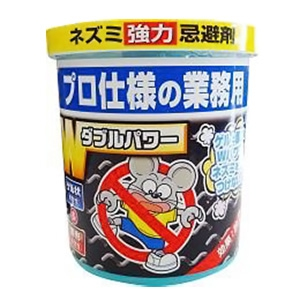 SHIMADA ネズミ強力忌避剤 強力拡散タイプ ゲル350g+固形剤30g ネズミキョウリョクキヒザイWパワー