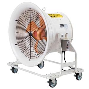 スイデン 大型送排風機 《どでかファン》 低騒音省エネタイプ 600クラス ハネ径φ600 3相200V SJF-T604A