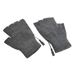 サンコー 【生産完了品】ヒーター手袋 《USB指までヒーター2》 温度3段階設定 フリーサイズ スイッチ付USBケーブル2本付 TKUSBWGG