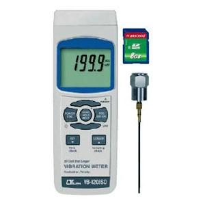 マザーツール デジタル振動計 SDスロット搭載 データロガ機能付 振動速度(mm/s)・加速度(m/s2)測定 VB-8205SD