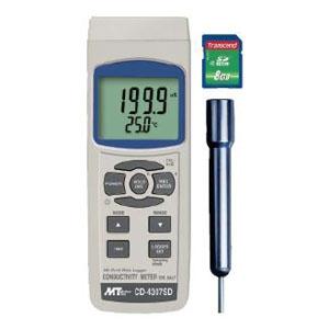 マザーツール マルチ水質測定器 SDスロット搭載 データロガ機能付 導電率・TDS(溶解性物質)・塩分濃度測定 CD-4307SD