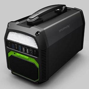CTJ 大容量ポータブル電源 《iFORWAY》 容量462Wh LEDライト・スピーカー付 PS300