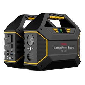 ティーズネットワーク 家庭用ポータブル蓄電池 電池容量155Wh 最大150W TSB-S365