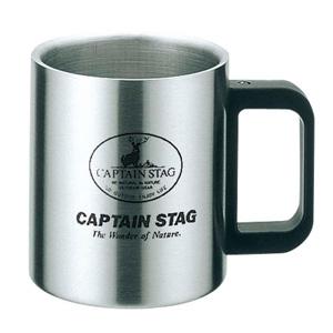 パール金属 フリーダム ダブルステンマグカップ420mL 《CAPTAIN STAG》 M-7327