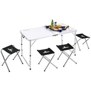 パール金属 ラフォーレ テーブル・チェアセット 4人用 《CAPTAIN STAG》 UC-4