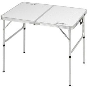 パール金属 ラフォーレ アルミ2WAYテーブル アジャスター付 Sサイズ 90×60cm 《CAPTAIN STAG》 UC-511