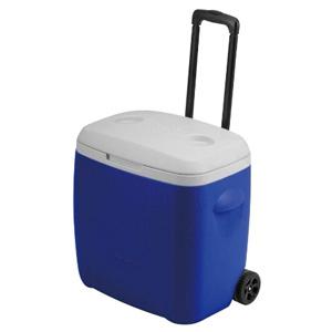 パール金属 リガードホイールクーラーボックス28L ブルー 《CAPTAIN STAG》 M-5281