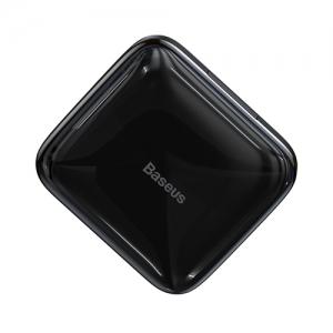 電材堂 USBハブアダプター 直付形 USB-A用 USB2.0×4  4in1 電源付 ブラック DCAHUB-CW01