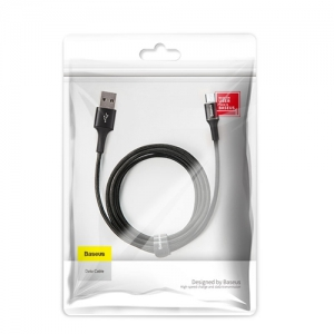 電材堂 USBケーブル USB-Micro 長さ3m ブラック DCAMGH-E01