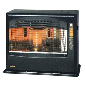 トヨトミ 石油ファンヒーター 《アンティークモデル》 18〜24畳まで ポット式 強制通気・強制対流形 タンク容量6.5L 遠赤外線+赤外線+微温風 LR-680F