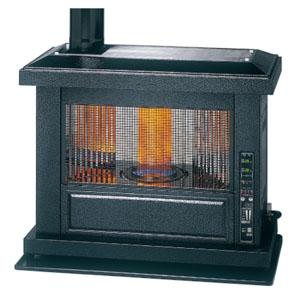 トヨトミ 石油ストーブ 《煙突式アンティークストーブ》 タンク・煙突別売 両面輻射タイプ 17〜27畳まで ポット式 強制給排気形・自然対流形 HR-T650F