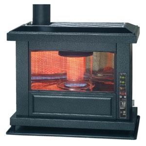 トヨトミ 石油ストーブ 《煙突式アンティークストーブ》 タンク・煙突別売タイプ 17〜27畳まで ポット式 強制給排気形・自然対流形 HR-K650F