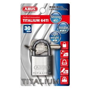 ABUS 【ケース販売特価 5個セット】タイタリウム 64TIシリーズ ブリスターパック 30KD BP-64TI/30KD