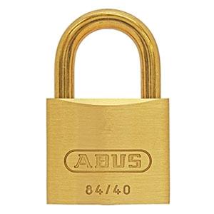 ABUS 【ケース販売特価 5個セット】真鍮南京錠 84MBシリーズ ブリスターパック 40mm BP-84MB/40