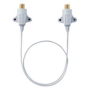 マスプロ すき間用接続ケーブル 3224MHz対応 長さ0.5m STC5W3-P