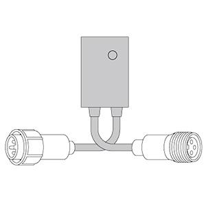ジェフコム LEDソフトネオン用コントローラー PR-E3-601C
