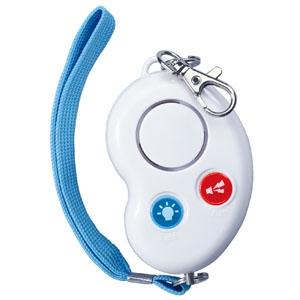 アーテック 防犯ブザー 《ビーンズⅡ》 電池式 防水型 ネックストラップ付 ホワイト 051318