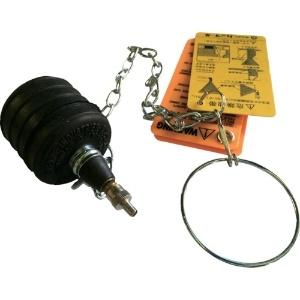 カンツール 止水プラグ シングルサイズ・テストボール 呼び径50mm 270-024