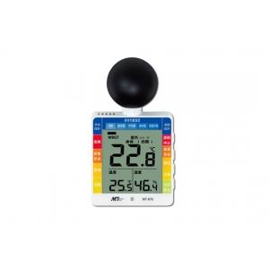 マザーツール 黒球付小型熱中症計 MT-876